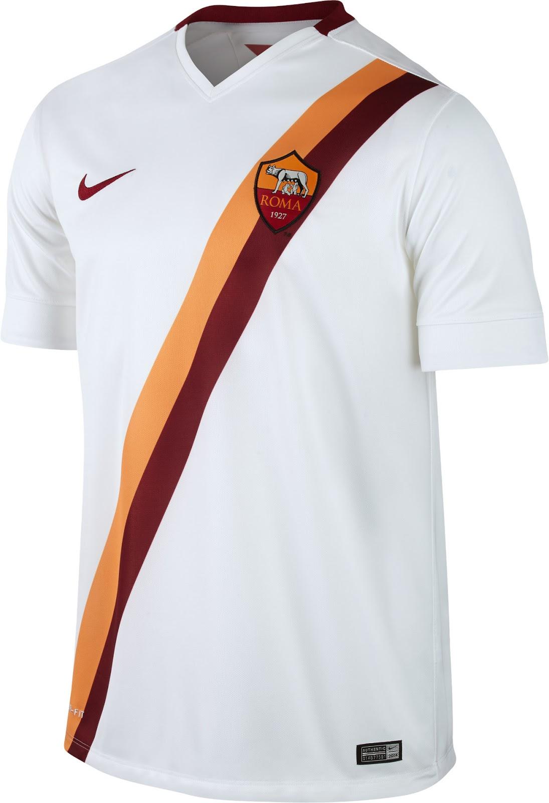 Nike AS Roma 14-15 (2014-15) Home, Away And Third Kits