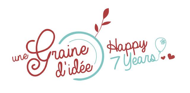7 ans Anniversaire Blog Concours Une Graine d'Idée