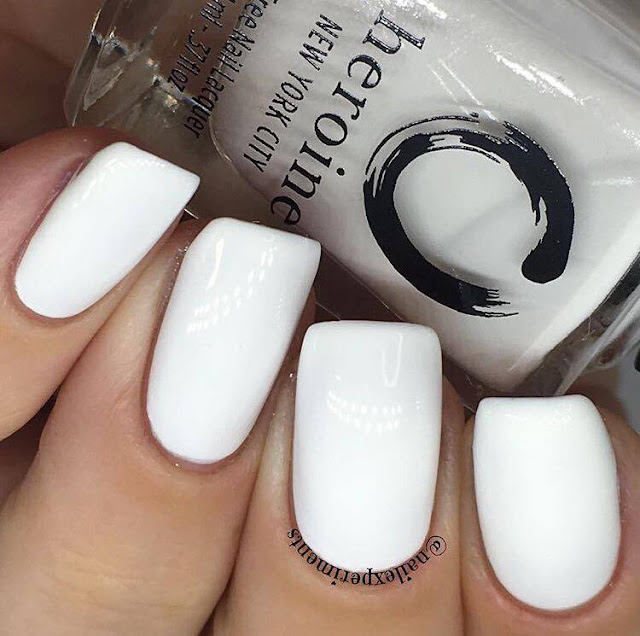 Heroine new york city polish in white noise