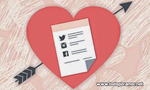 Se puede enamorar a una persona por redes sociales