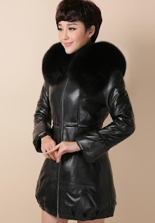 Gambar Jaket Kulit Bulu untuk Wanita