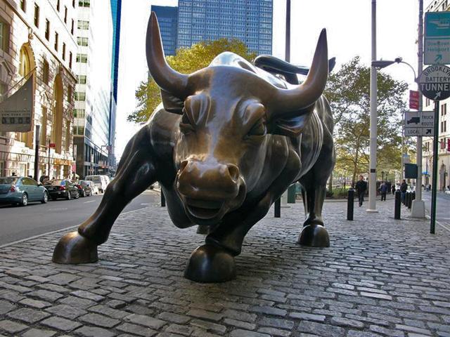 Charging Bull em Nova York