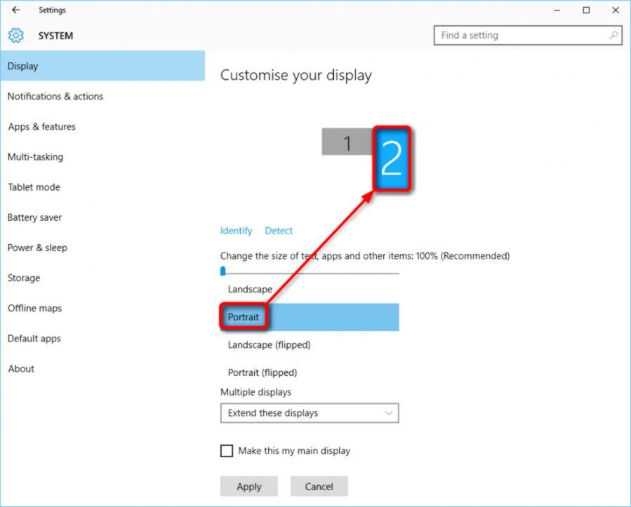 Extend Desktop Background Two Monitors Windows 7 - ▷ ▷ PowerMall