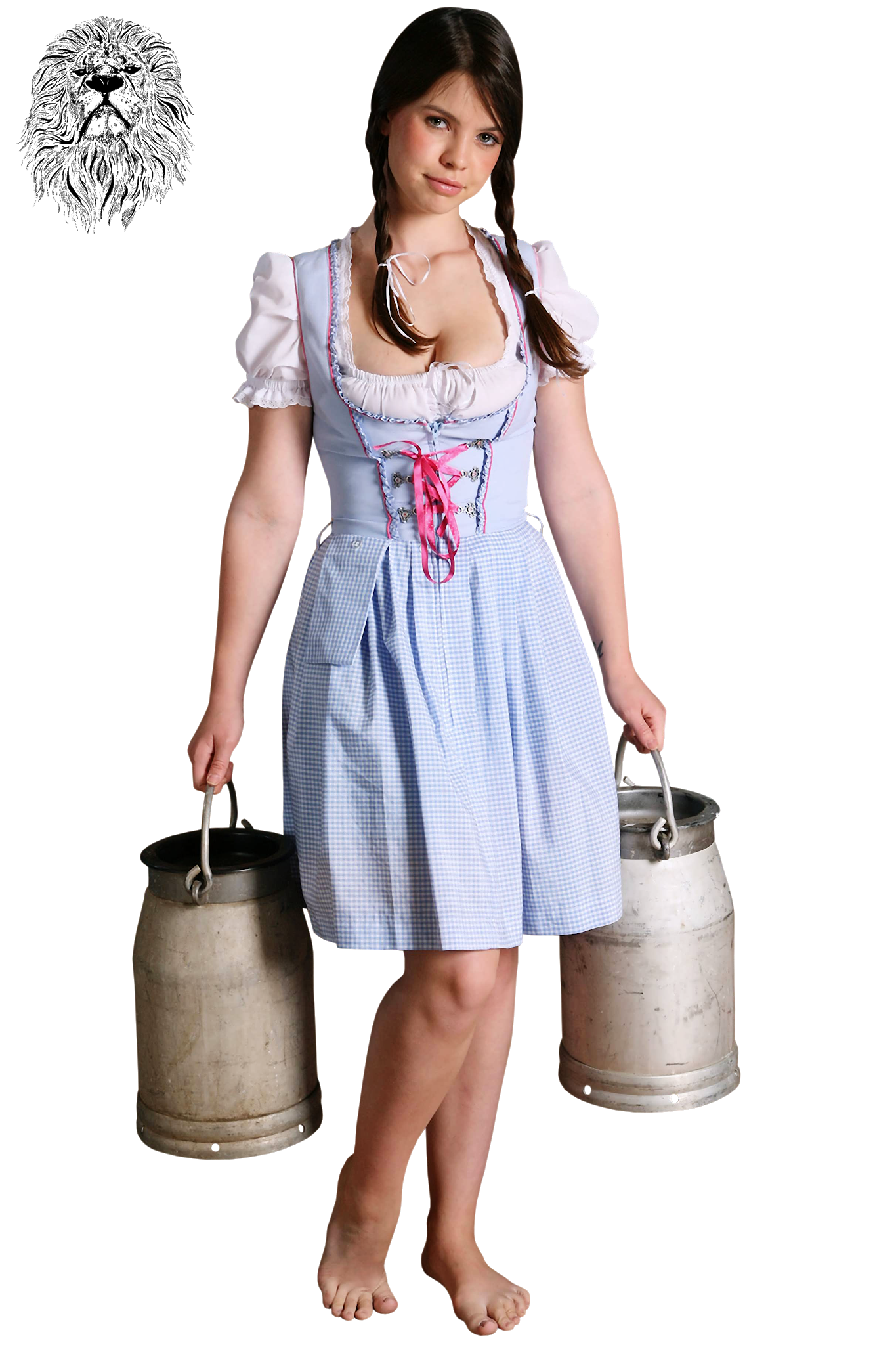 Models - Emma Sinclaire - Dirndl Girl (1)