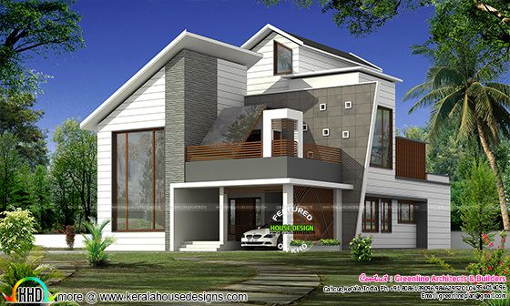 Stylish new modern house in 2838 sq-ft