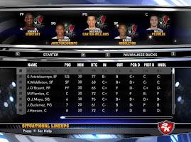 NBA 2k14 Custom Roster Update v4 : February 21st, 2015 - Trade Deadline - Bucks Roster