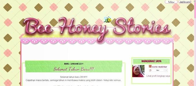 Tempahan Design Blog : Blog Bee Honey Stories