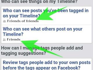 apni facebook timeline me kisi or ko post or tag karne se kese roke 4