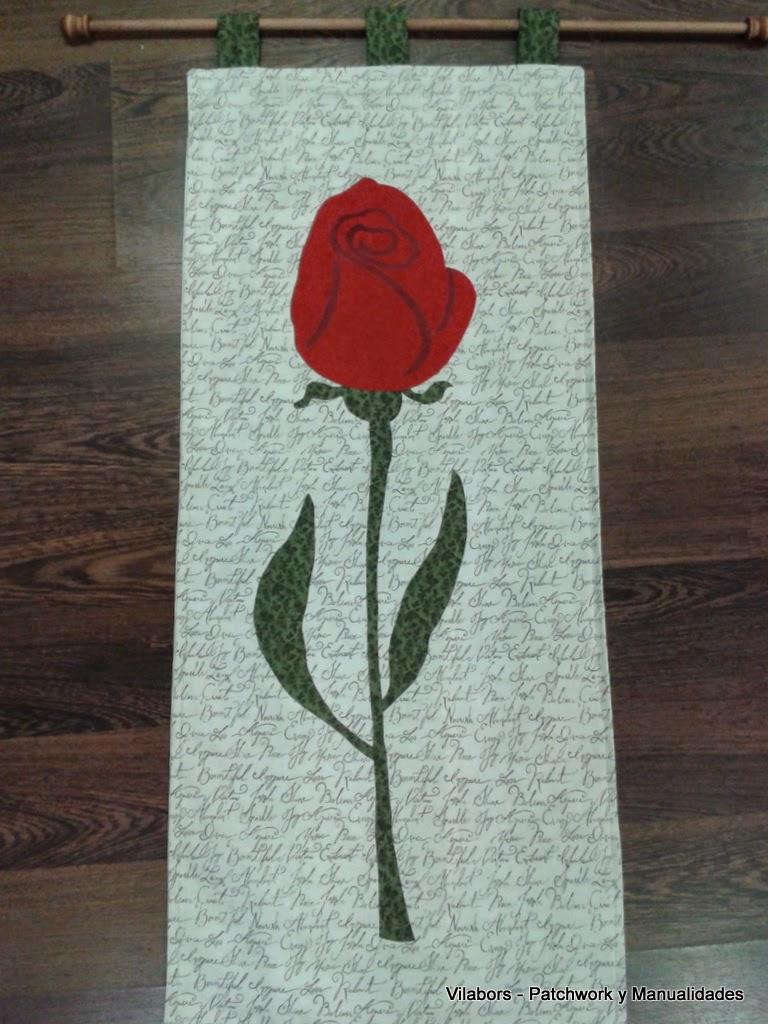 Rosa de Sant Jordi - Patchwork Vilabors, Vilafranca del Penedès