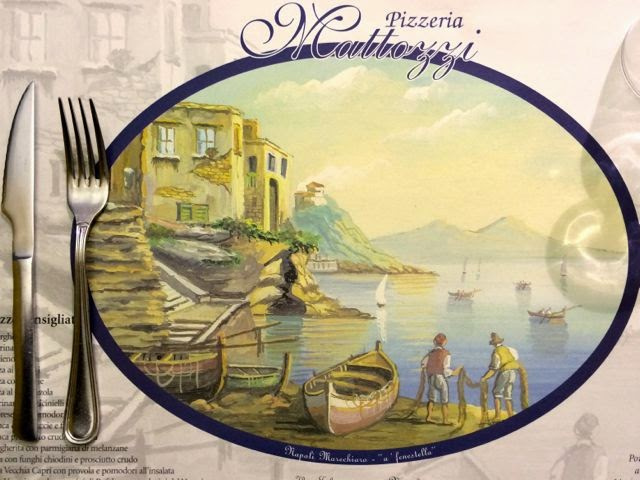 Eating in Naples Italy