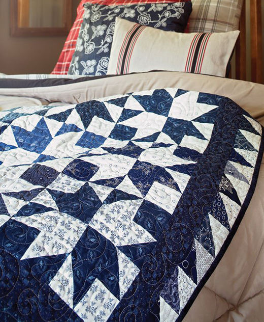 Cold Snap Quilt Free Pattern