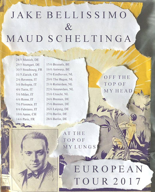Jake Bellissimo European Tour 2017 with Maud Scheltinga