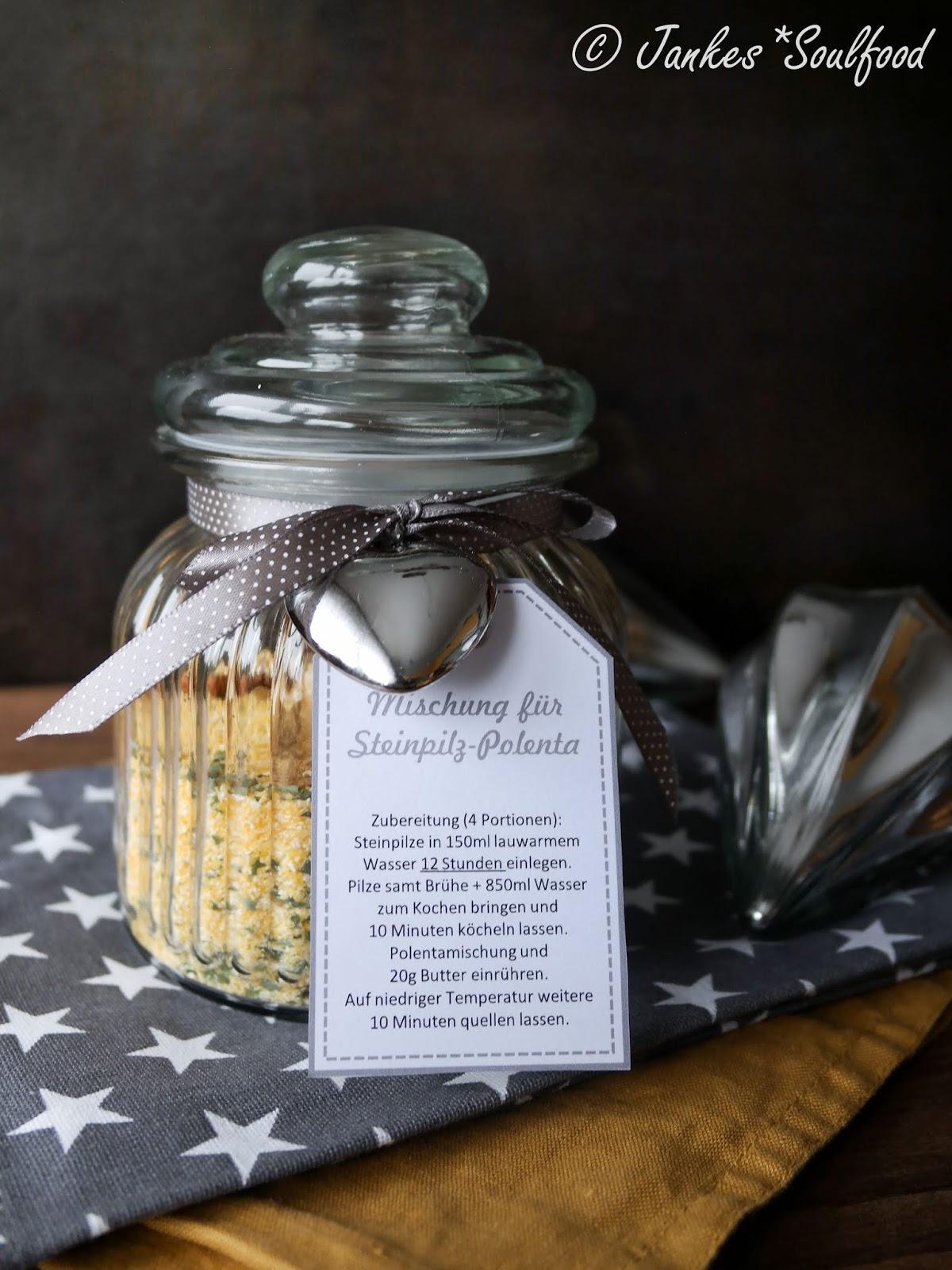 Geschenk aus der Küche: Steinpilz-Polenta