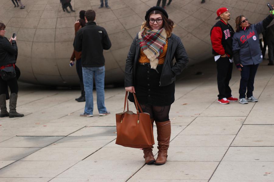 Chicago street style | katielikeme.com chicago style fashion