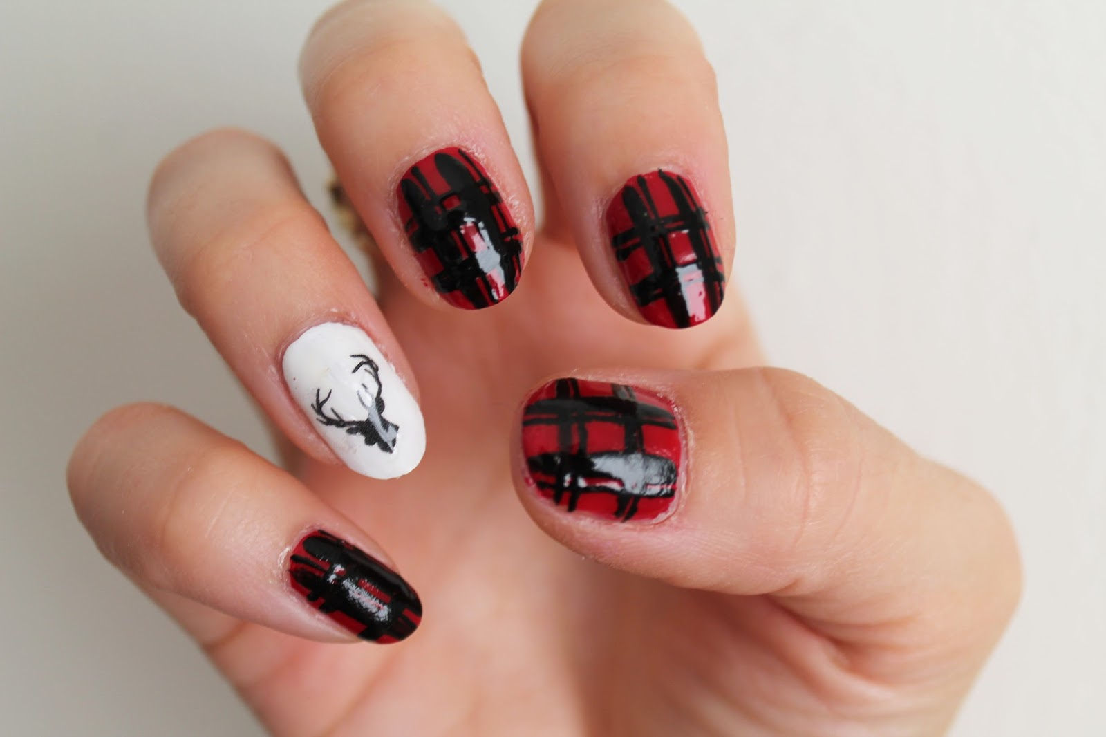 Holiday Nail Art and Cyber Monday - Jersey Girl, Texan Heart