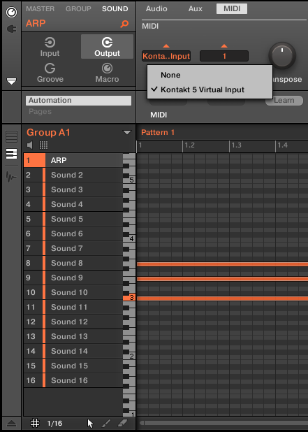 Granular Matter: Using Kontakt 5 as a MIDI Arpeggiator with