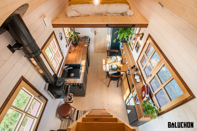 Tiny House Town Holz Hisla By Baluchon