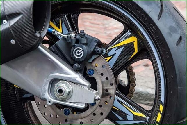Bremboo Rem Tanpa ABS Tip Modifikasi Yamaha Jupiter MX King Exciter Gaya Balap MOTO GP Sporti Keren Abis