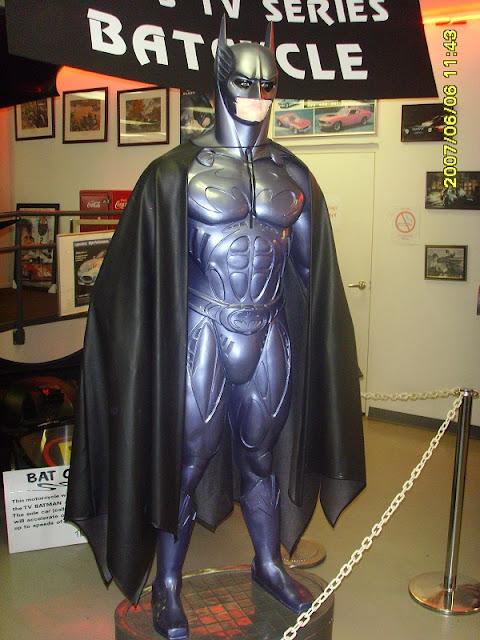Standfigur von Batman im Tampa Bay Auto Museum