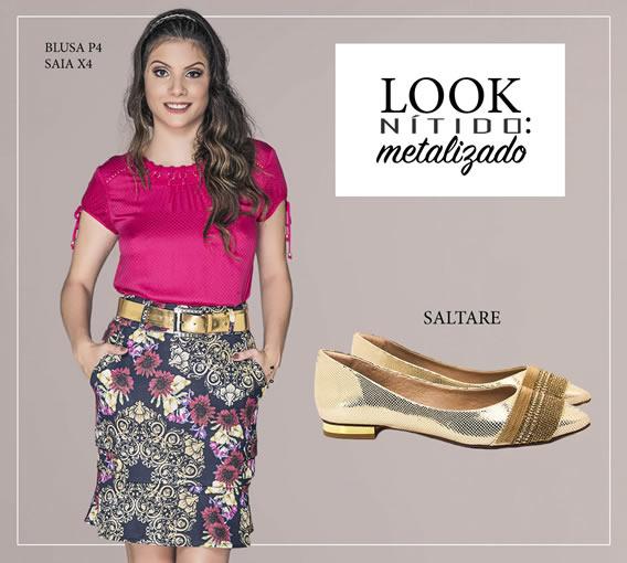 Combinações Nítido com calçados tendências de Verão 2017