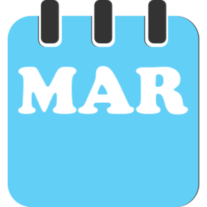 Logo Bulan Maret
