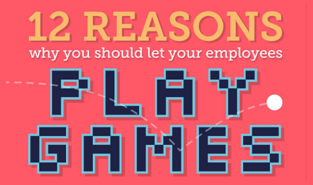 12 Reasons Why You Should Let Your Employees Play Games
