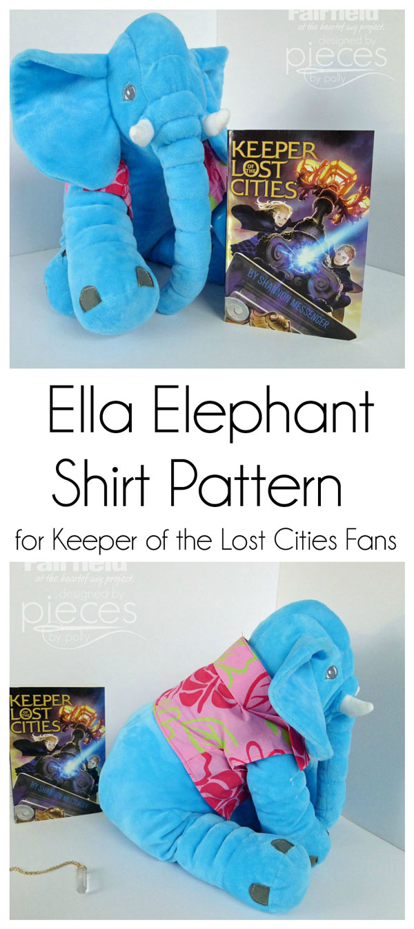 732524e735e69 Pieces by Polly  Ella Elephant Shirt Pattern - KOTLC - Keeper of the ...