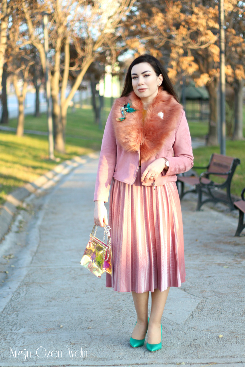 Tasarımsal Kürk Yaka Detayı-Nuha Tasarım-moda blogları-fashion blogger