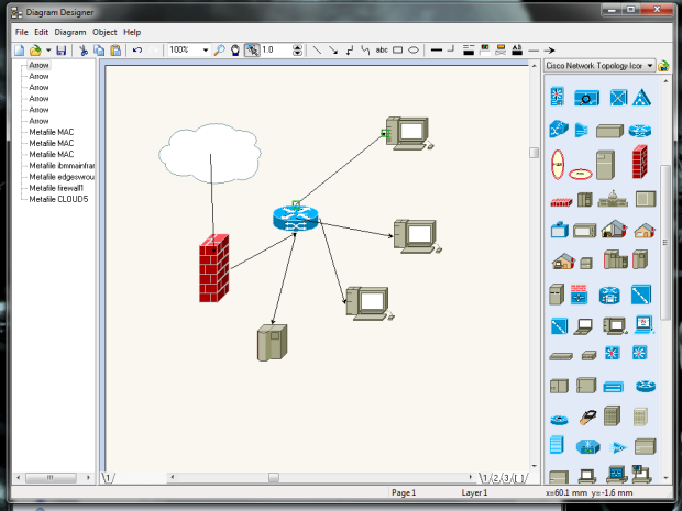 Network Diagram 6 Free Diagram Application For Network