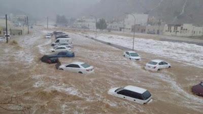 """تحذير من """"الأرصاد"""" بشأن طقس اليوم: سقوط أمطار ورياح مثيرة للرمال والأتربة"""