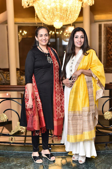 Educationist and Actress Swaroop Rawal with Host Varija Bajaj (2)-min