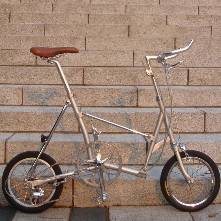 Folding Bike On Tours Thailand Folding Bike Bridgestone