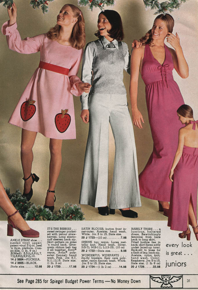 Selected Pages From the 1972 Spiegel Christmas Catalog Go Retro