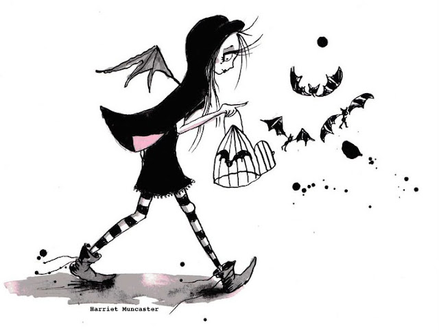 Victoria Stitch walking with bats