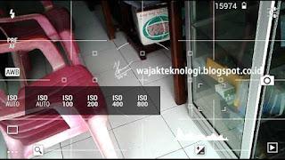 Aplikasi Kamera Android setting ISO