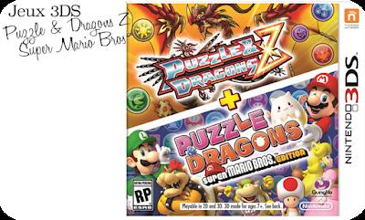 Nintendo 2DS - Puzzles et des dragons