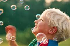 Laughing with Bubbles