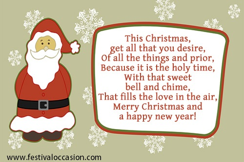 christmas message for friends - Christmas Message For Friends