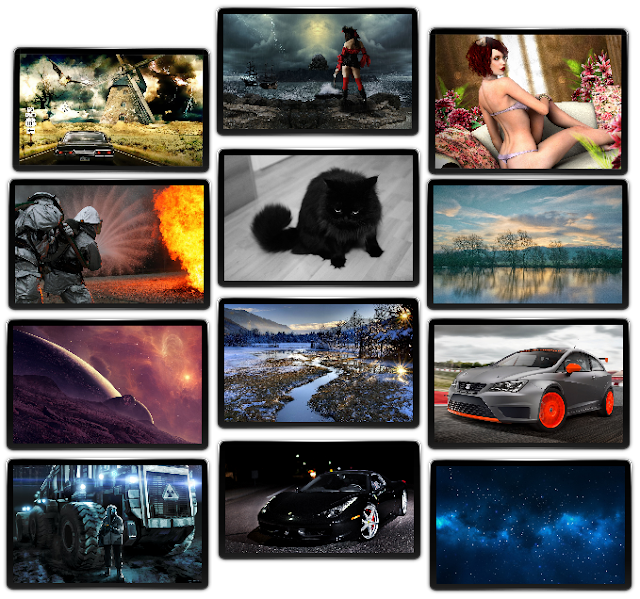 Wallpapers variados HD - Pack 60