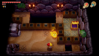 a room in the northeast of the Catfish's Maw dungeon with a small optional section