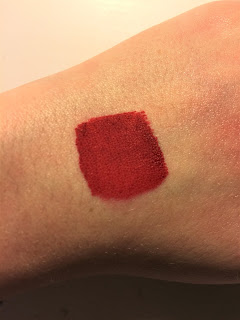 Sephora Cream Lip Stain in Always Red