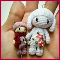 Micro muñecas amigurumi