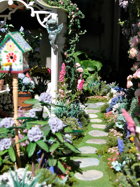 dollhouse garden path