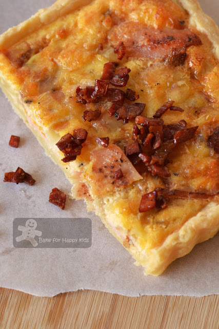 cowboy quiche pioneer woman crispy bacon topping