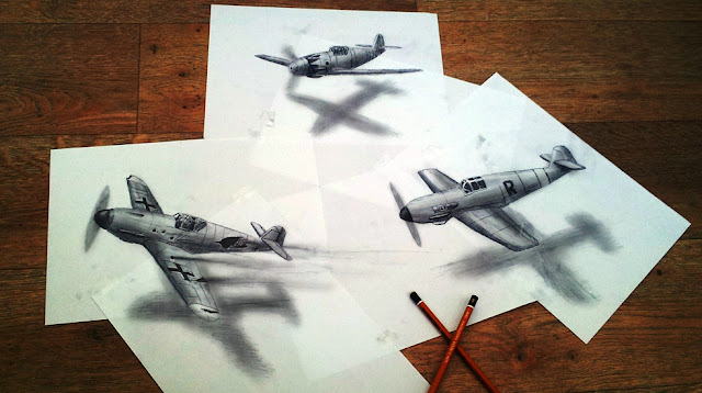 Pictures of unbelievable 3D Drawings