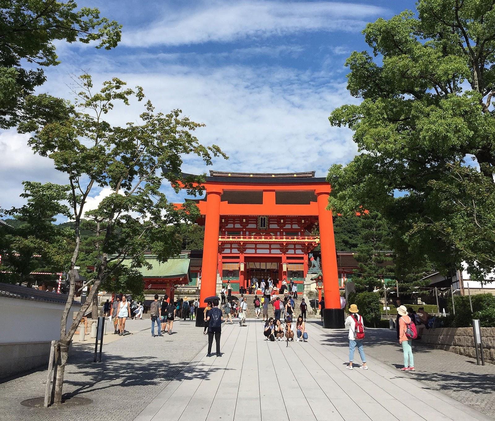 voyage travel au japon à Kyoto pleins de jolis photographies temples et sanctuaires