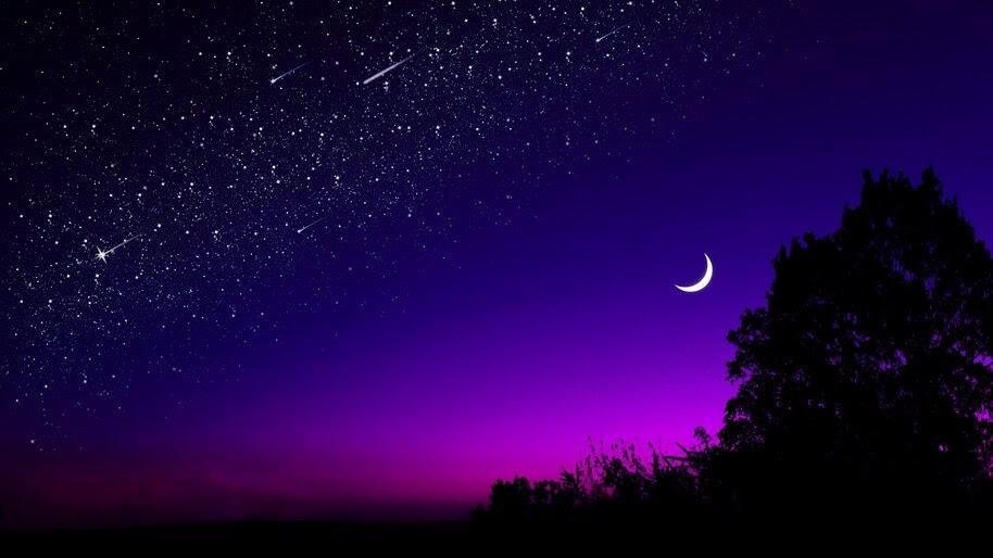 Night, Beautiful, Sky, Stars, Scenery, 8K, #4.1931