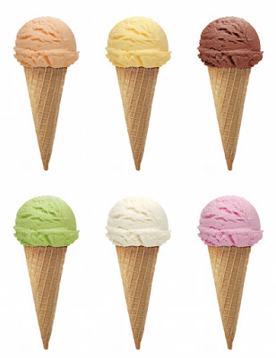 varieties of ice cream
