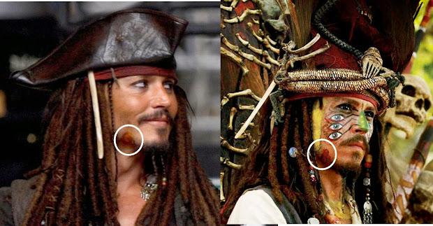 Pirate Makeup Jack Sparrow