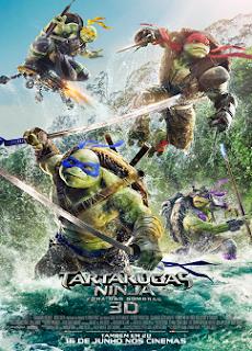 Baixar As Tartarugas Ninja: Fora das Sombras Dublado Grátis
